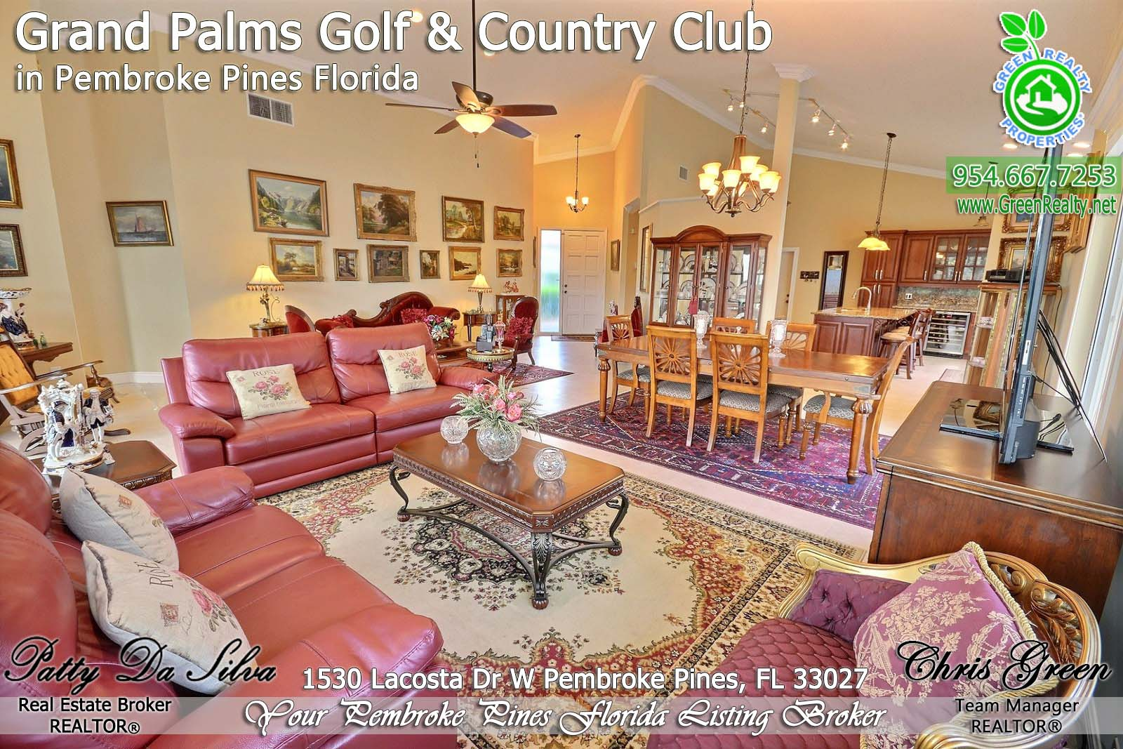 Pembroke Pines Home Sales in Grand Palms