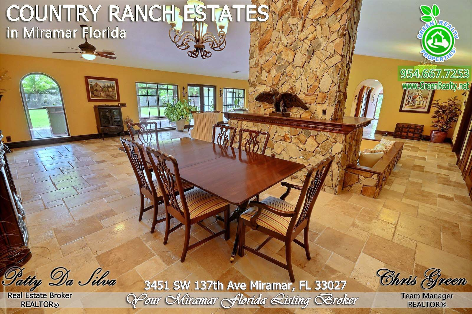 19 Luxury Homes in County Ranch Estates