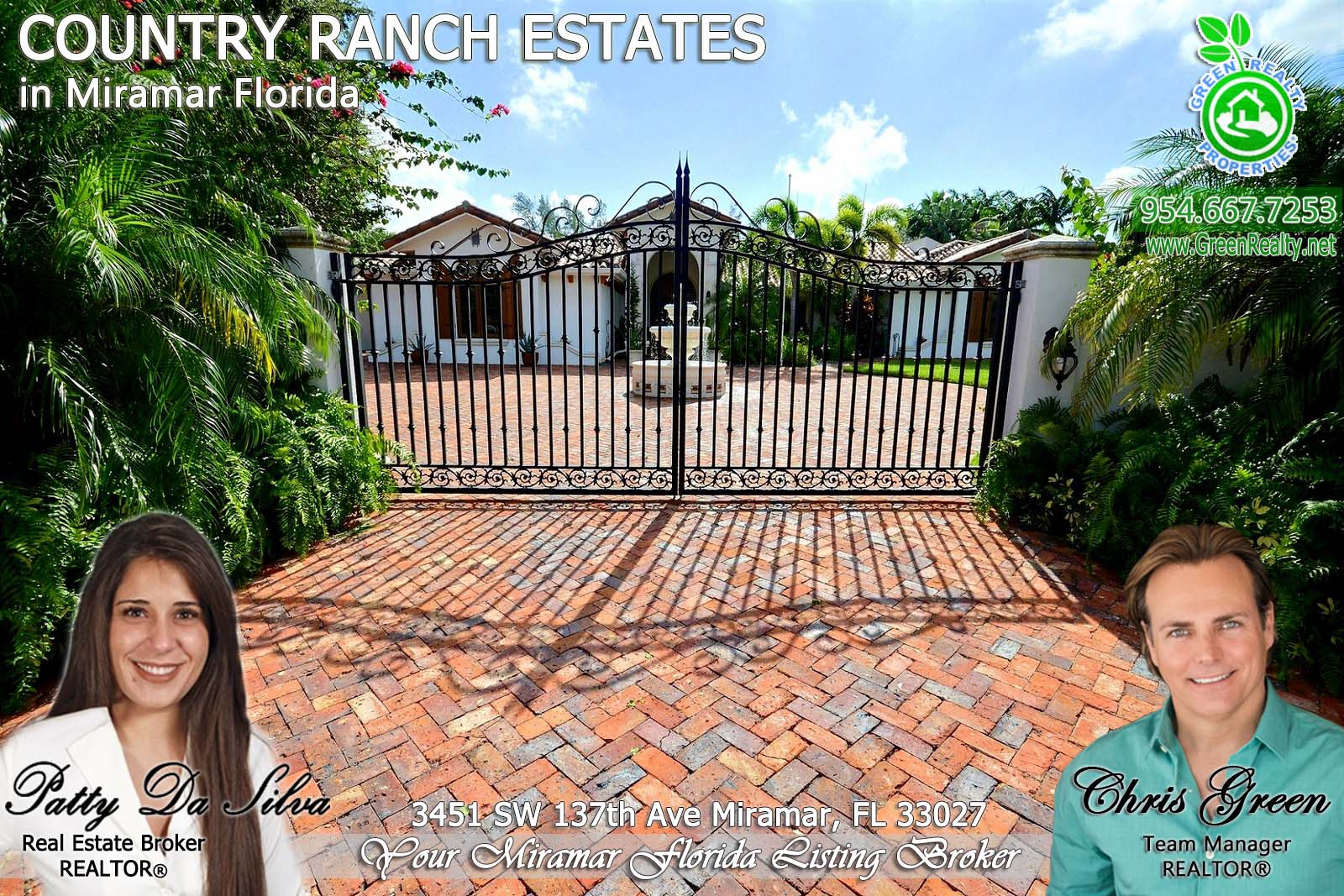 2 Broward County Miramar Acreage Homes