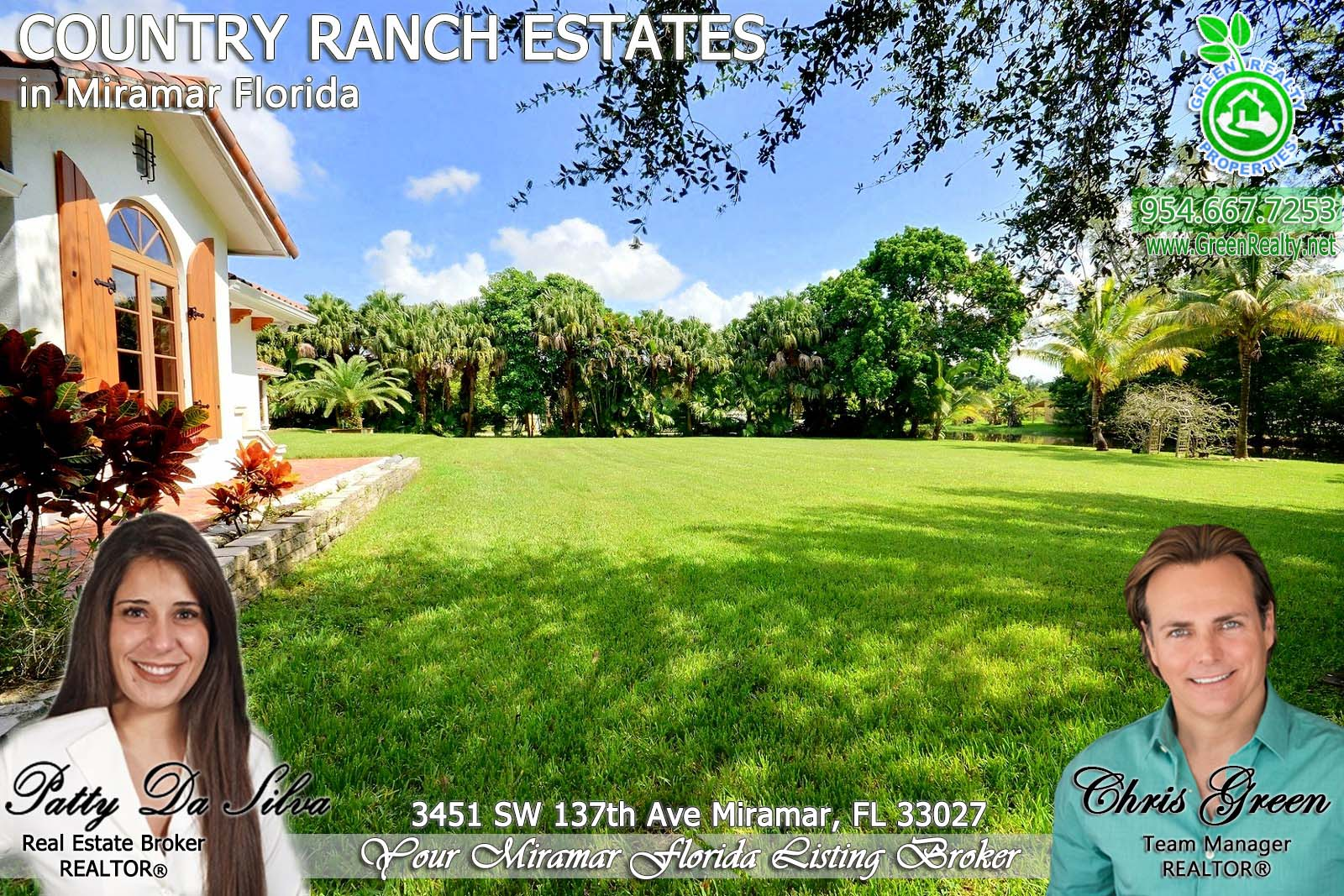 54 County Ranch Estates Acreage Homes For Sale