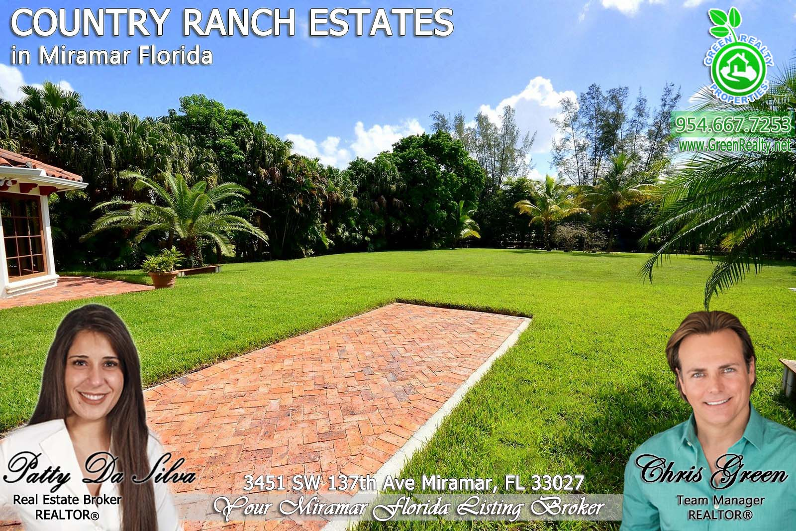 57 County Ranch Estates Broward County Luxury Homes
