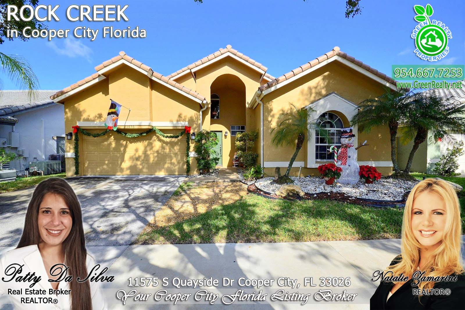 2 Homes For Sale in Rock Creek Cooper City Florida
