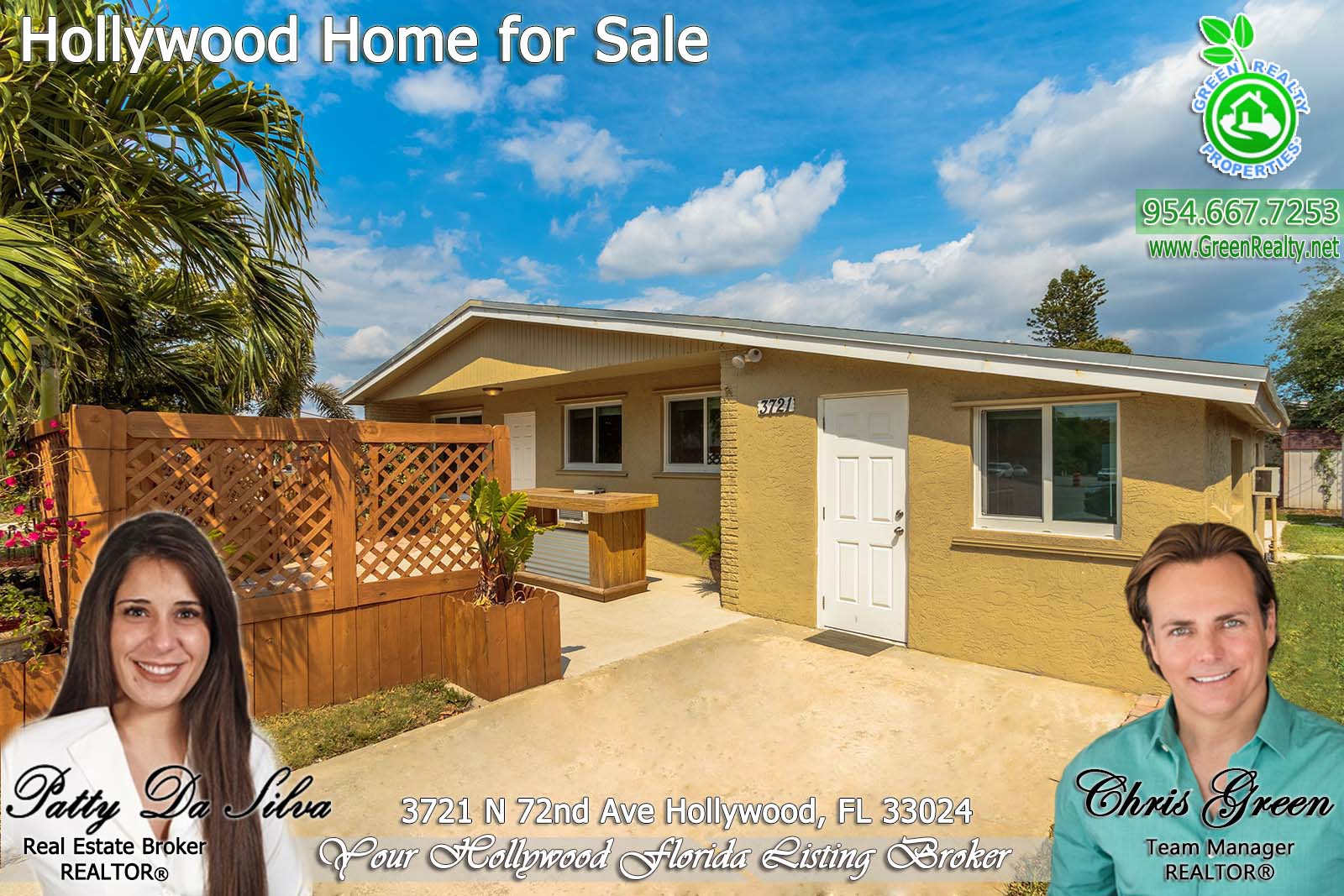 Hollywood Fl News >> Cornet Lot Home In Hollywood Fl For Sale By Broker Patty Da