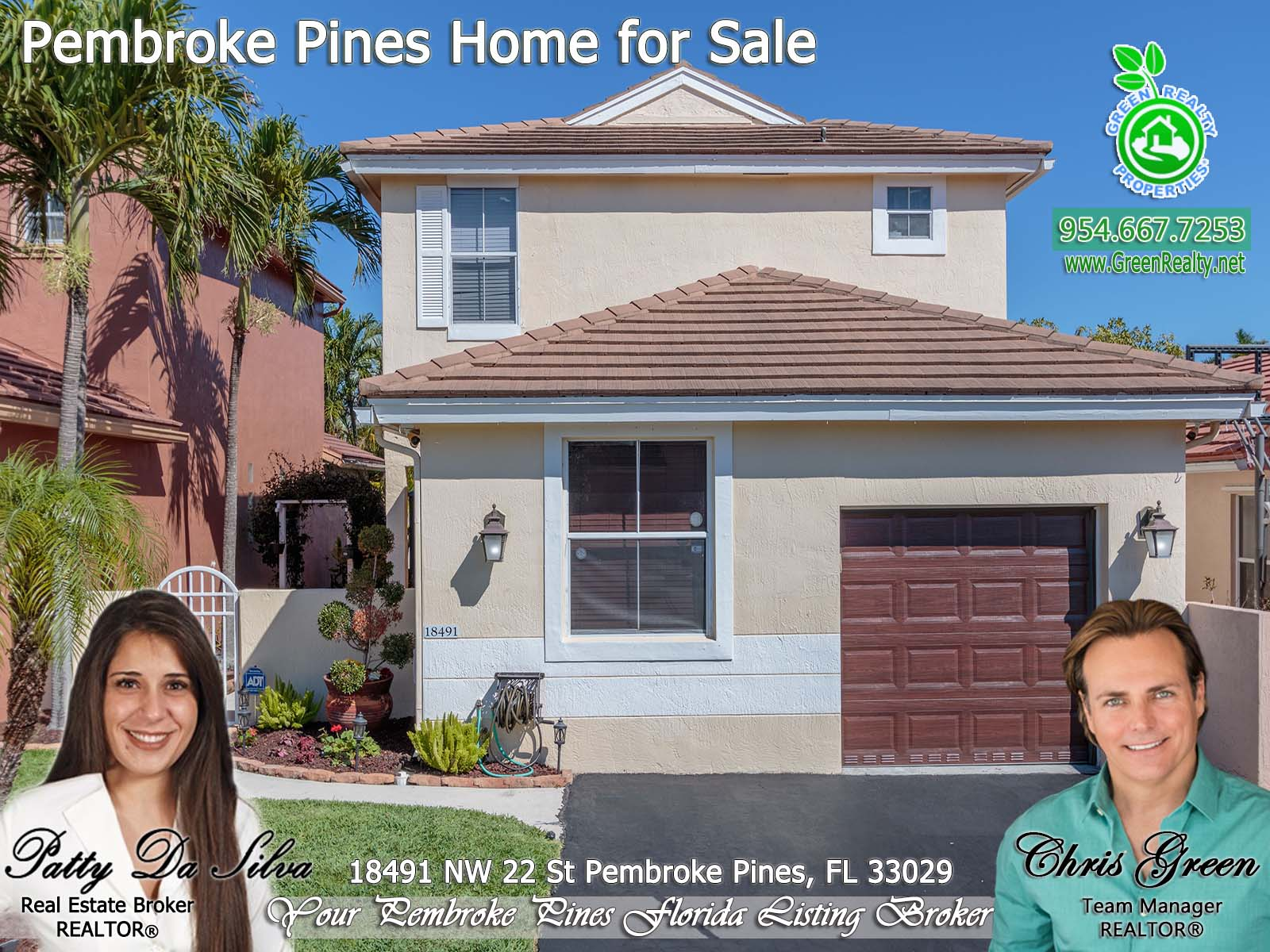 1 Pembroke Pines Home For Sale Patty Da Silva Green Realty Properties (2)