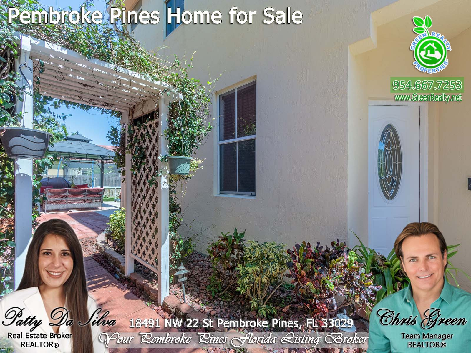 2 Pembroke Pines Home For Sale Patty Da Silva Green Realty Properties (4)