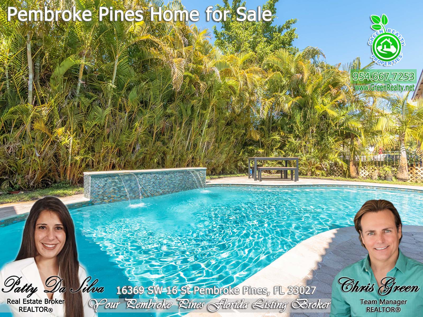 1 Pembroke Pines Realtor Broker Patty Da Silva south florida listing (1)